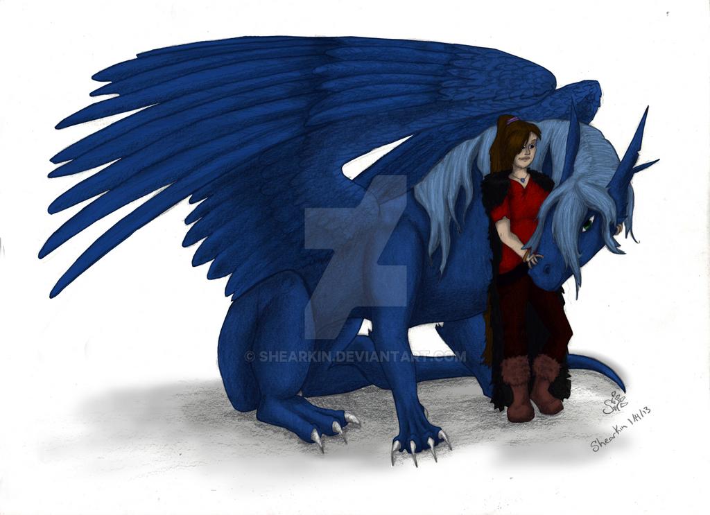 Amaya and Aslin by Shearkin