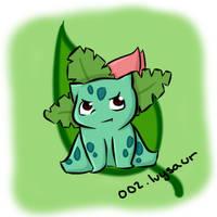 002. Ivysaur by Kina-Maaka
