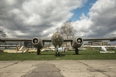 Ilyushin Il-28 front by kryminalistycy-STOCK