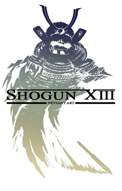 SHOGUN XIII logo by dasAdamXiii Logo