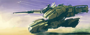 hovering-tank