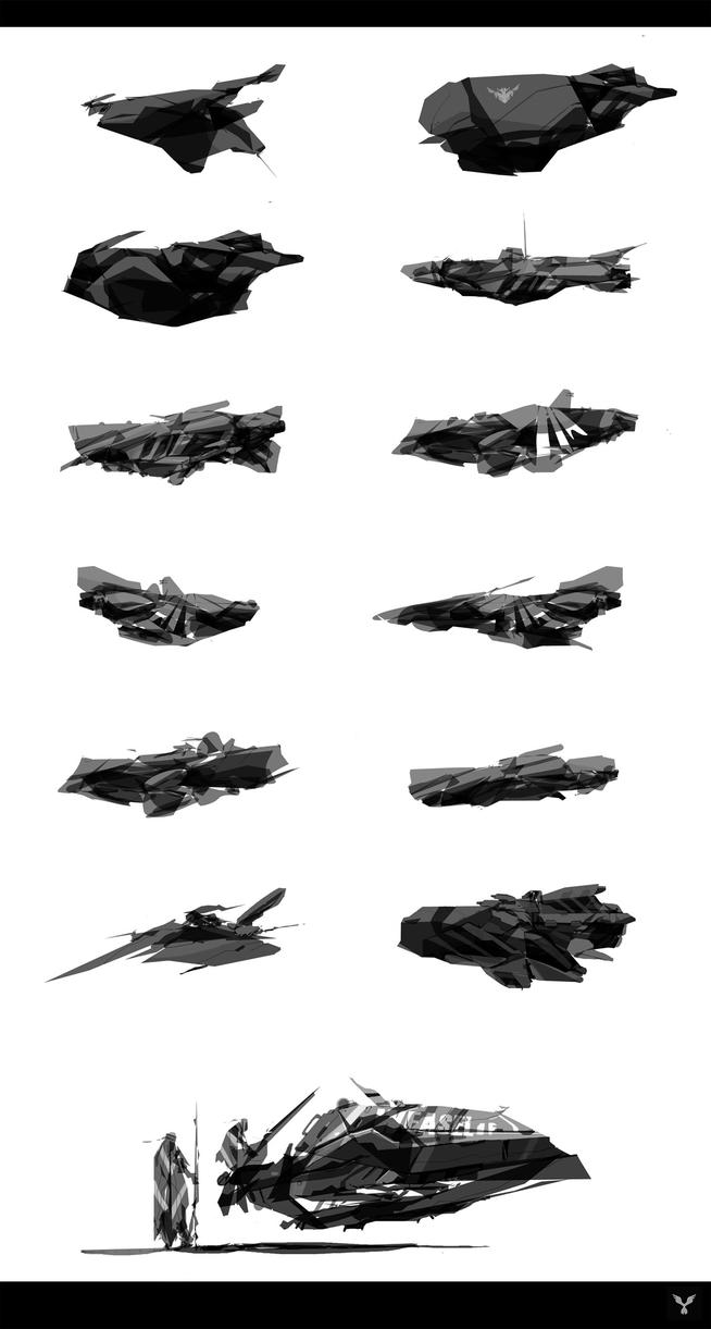 Alchemy SPACESHIPS by dasAdam