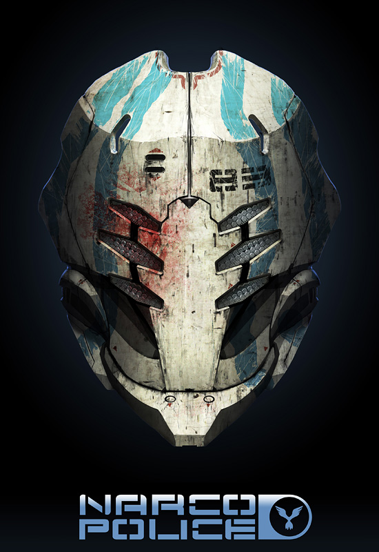NARCO POLICE MASK by dasAdam