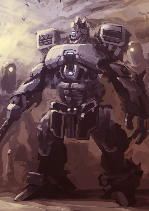 Mech-LIVESTREAM-2 by dasAdam