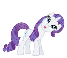 Rarity Vector by ikillyou121
