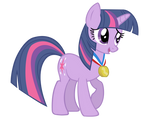Twilight Wearing A Medal