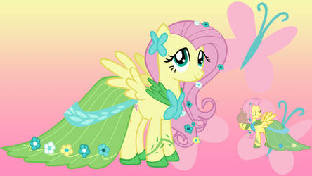 Fluttershy Background