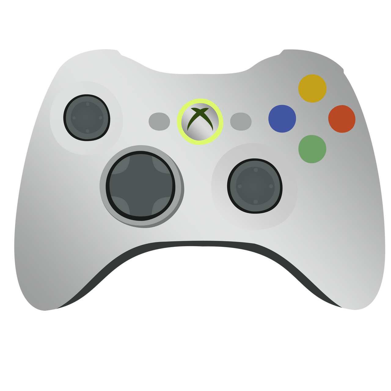 D Line Drawings Xbox : Xbox controller vector by ikillyou on deviantart