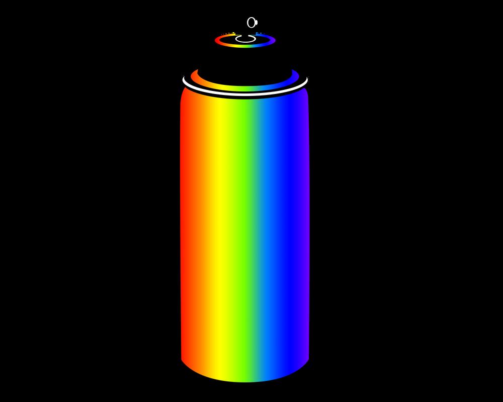 rainbow spray paint cutie mark by ikillyou121 on deviantart. Black Bedroom Furniture Sets. Home Design Ideas