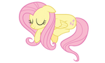 Sleepy Fluttershy Vector