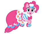 Pinkie's Gala Dress Vector