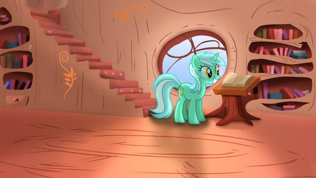 Lyra's Day At The Library