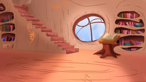 Ponyville Library Shaded