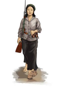 NV Militiawoman
