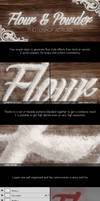 Flour and Powder - Photoshop Actions Pack