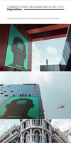 9 Urban Poster / Billboard Mock-Ups - Huge Edition by NuwanP
