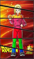 Multicolor Android 18 Poster by Elrincondeurko