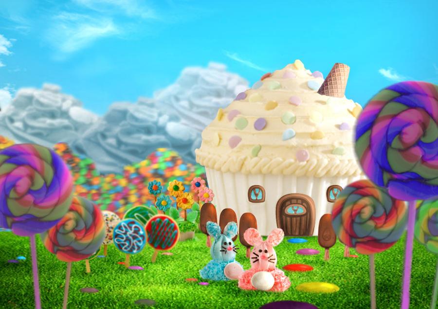 candy world by xiauyinn on deviantart house painting clipart Interior House Painting Clip Art