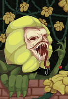 Collab: Flowey by Wraitany