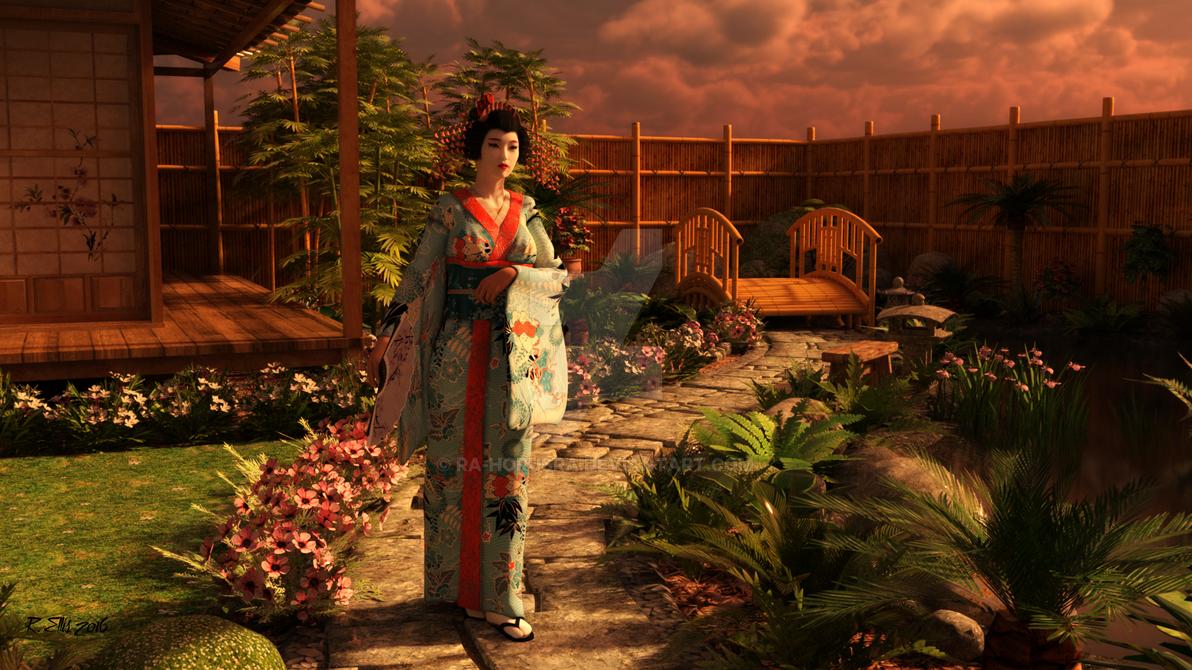 Garden Stroll by Ra-HorusRa
