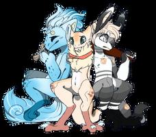 The Trio by seaskiies