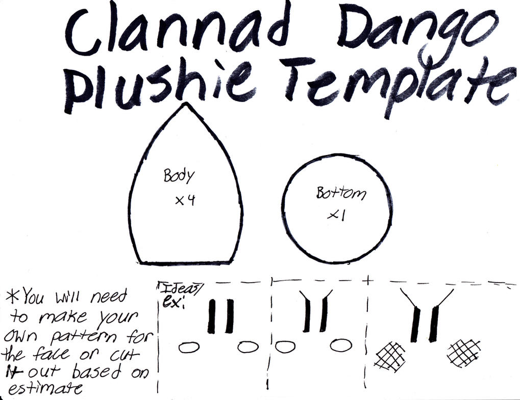 Clannad Dango Template by GRNMARCO