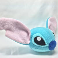 Stitch Head Plushie by GrnMarco