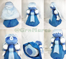Steven Universe: Handmade Sapphire Plushie by GrnMarco
