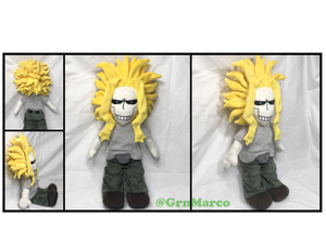 Handmade All Might Plushie