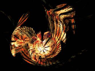 Golden Chicken by machinae