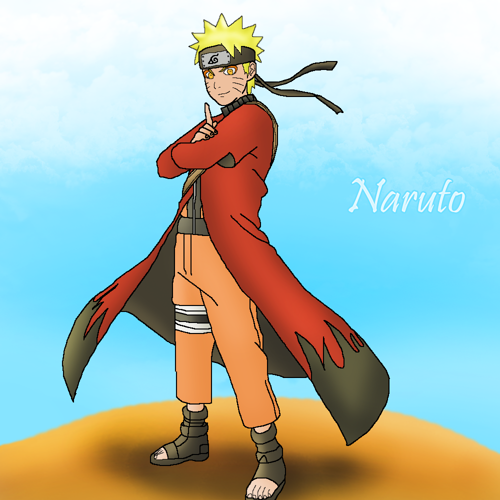 Naruto Sage Mode by LegendaryRey on DeviantArt