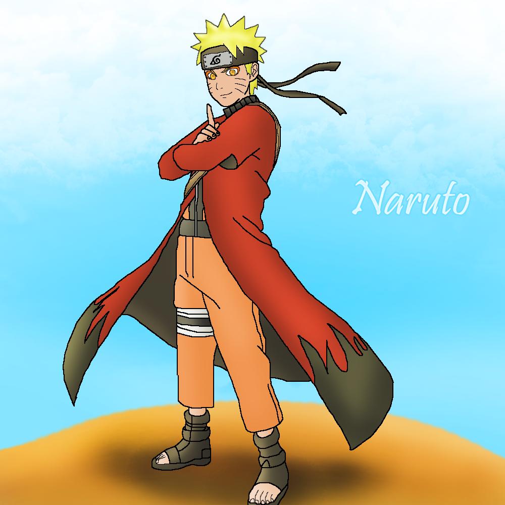 Naruto Sage Mode by LegendaryRey on DeviantArt
