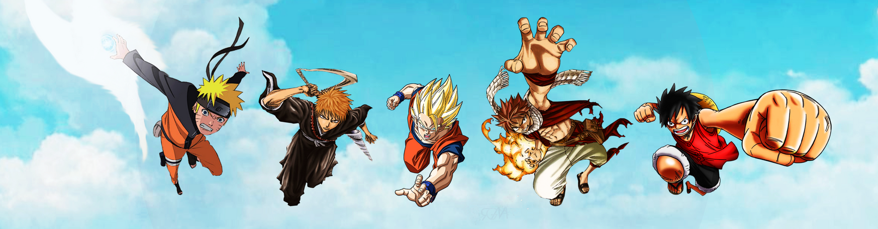 Anime Crossover by LegendaryRey