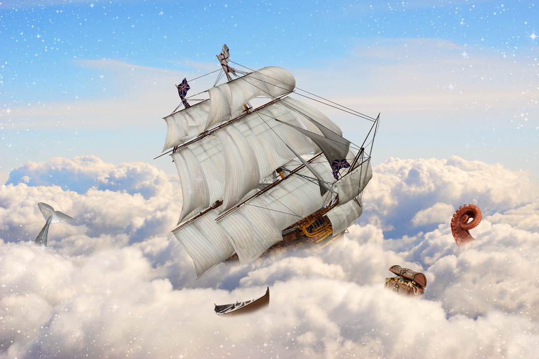 Sky Sailing by LegendaryRey