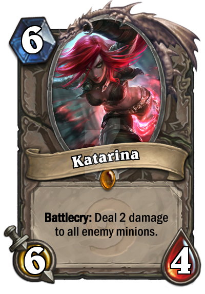 Katarina Hearthstone by LegendaryRey