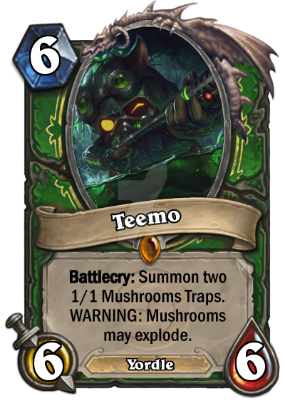 Teemo Hearthstone by LegendaryRey