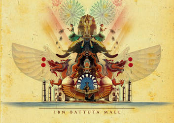 IBN Battuta mall Cover by ghorifaraz
