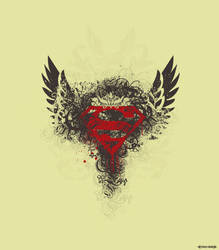 Grunge Superman logo by ghorifaraz