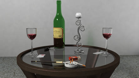 Wine for Two? 01 by mekoness