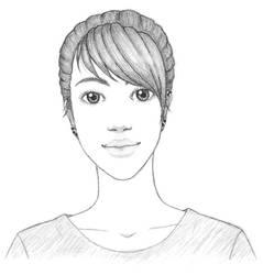 Haru Portrait 2013 by mekoness