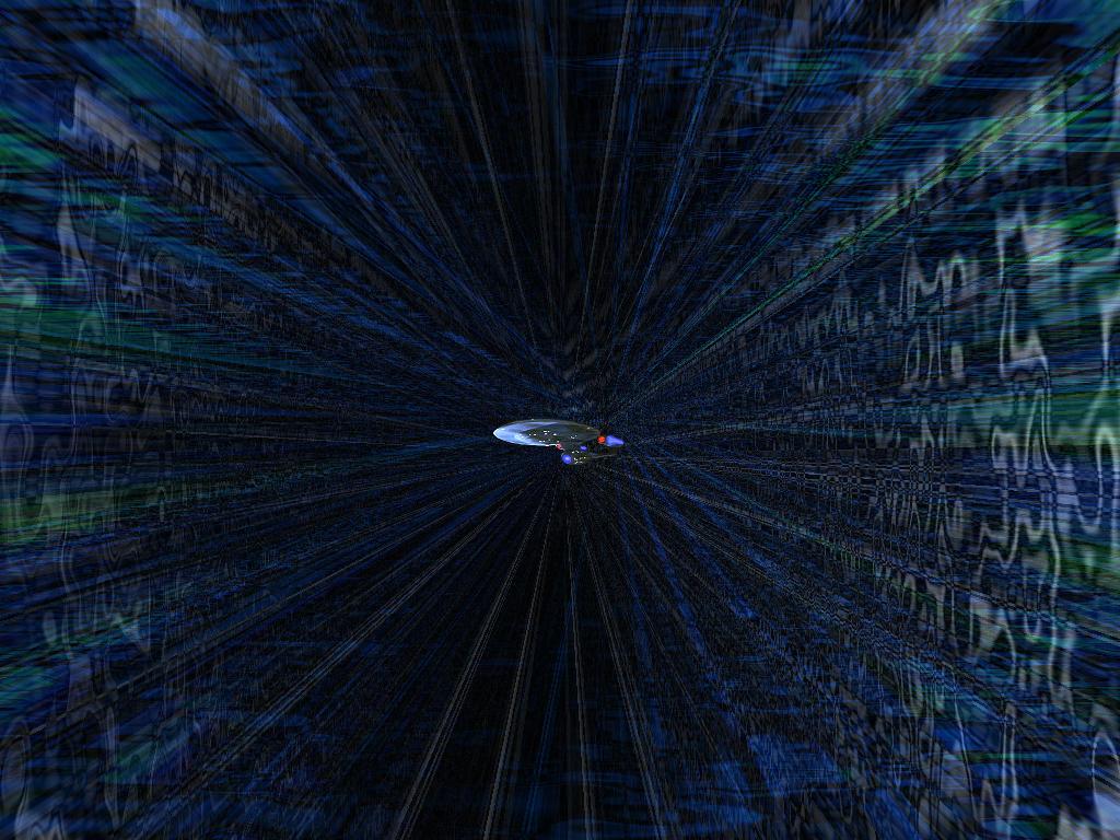 Star Trek warp speed by cowkilla