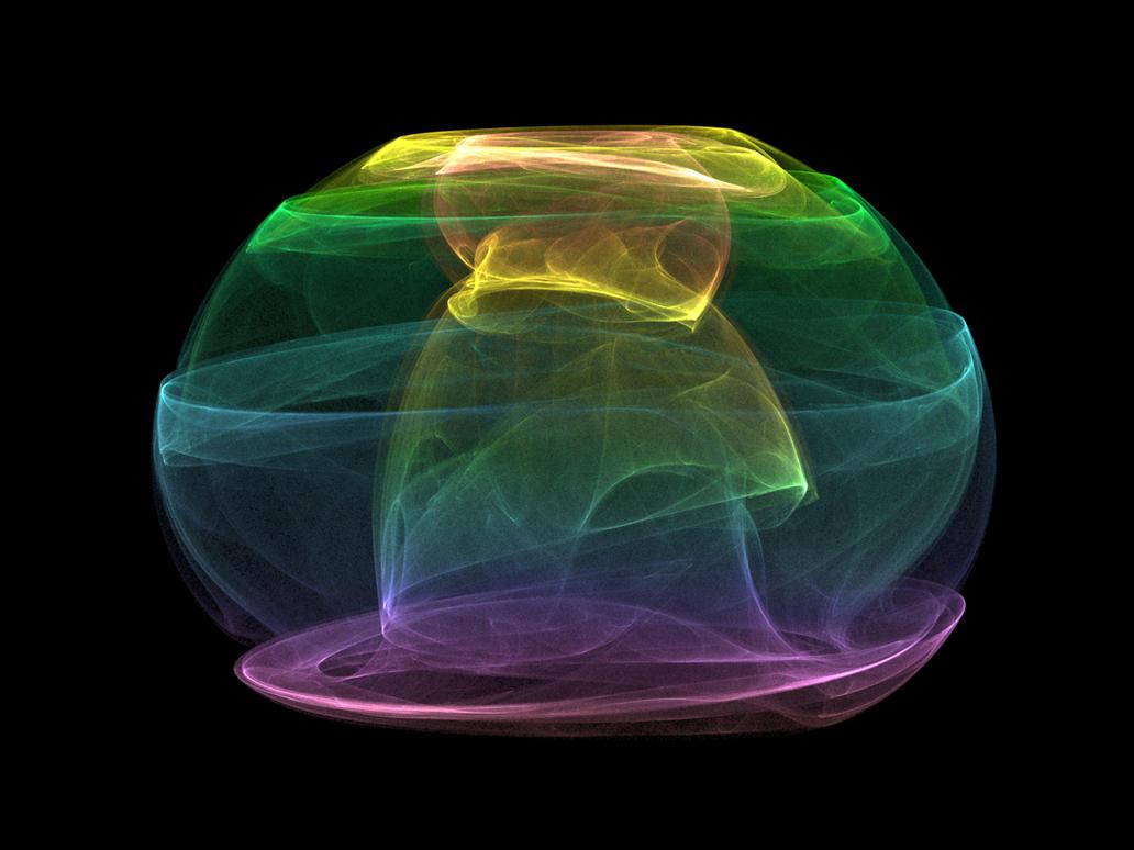 Rainbow Mushroom Cloud by cowkilla