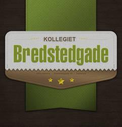 Retro Vintage Badge : Bredstedgade by instantsoul