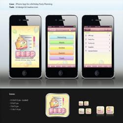 Mobile App Design by instantsoul