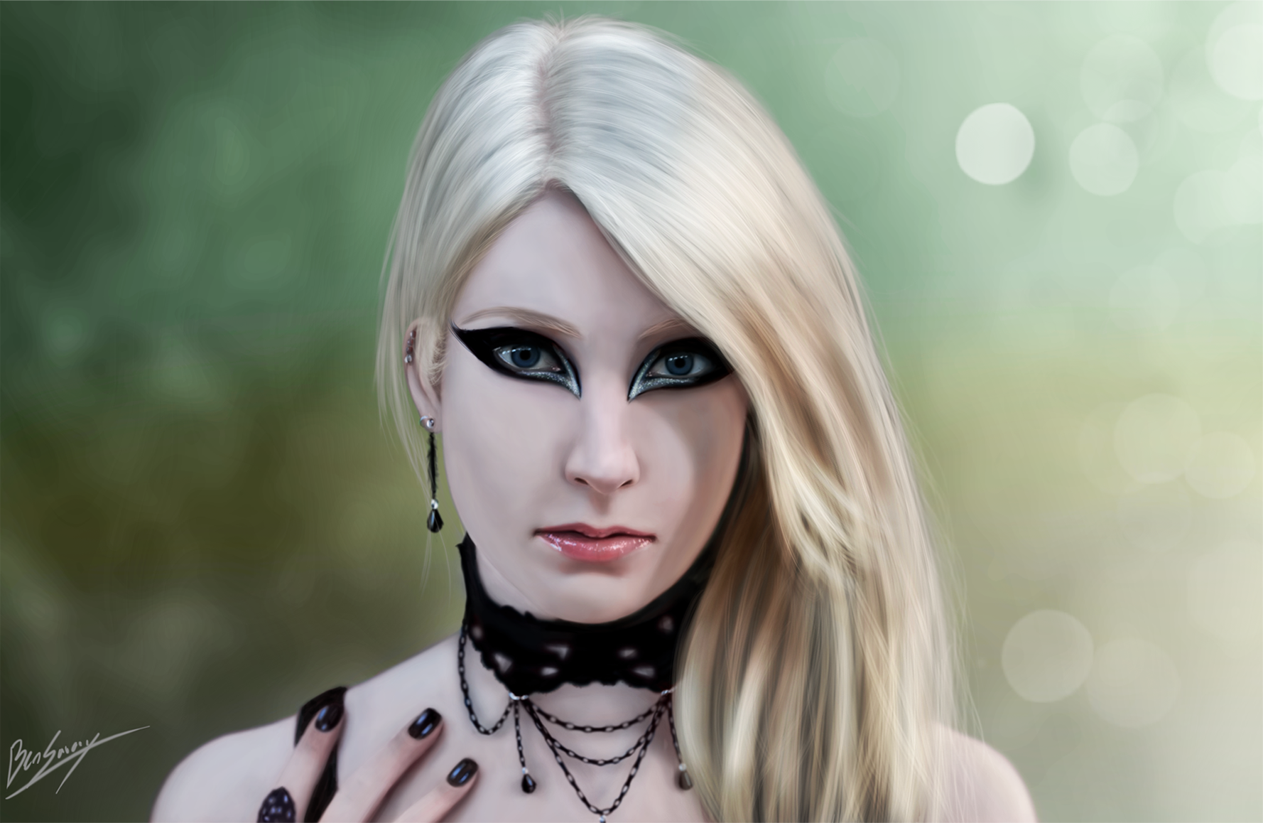 Girl Portrait by Dropdeadcoheed