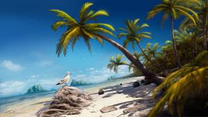 Beach by Dropdeadcoheed