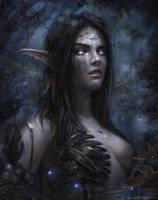 Night elf by Dropdeadcoheed