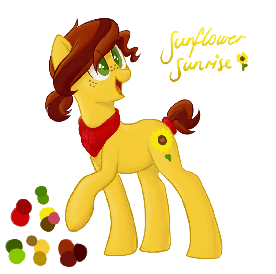 OC: Sunflower Sunrise by VampTeen83