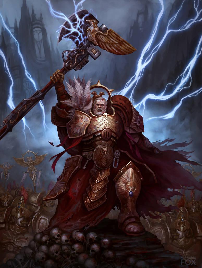 General Trajann Valoris by AnarchicFox