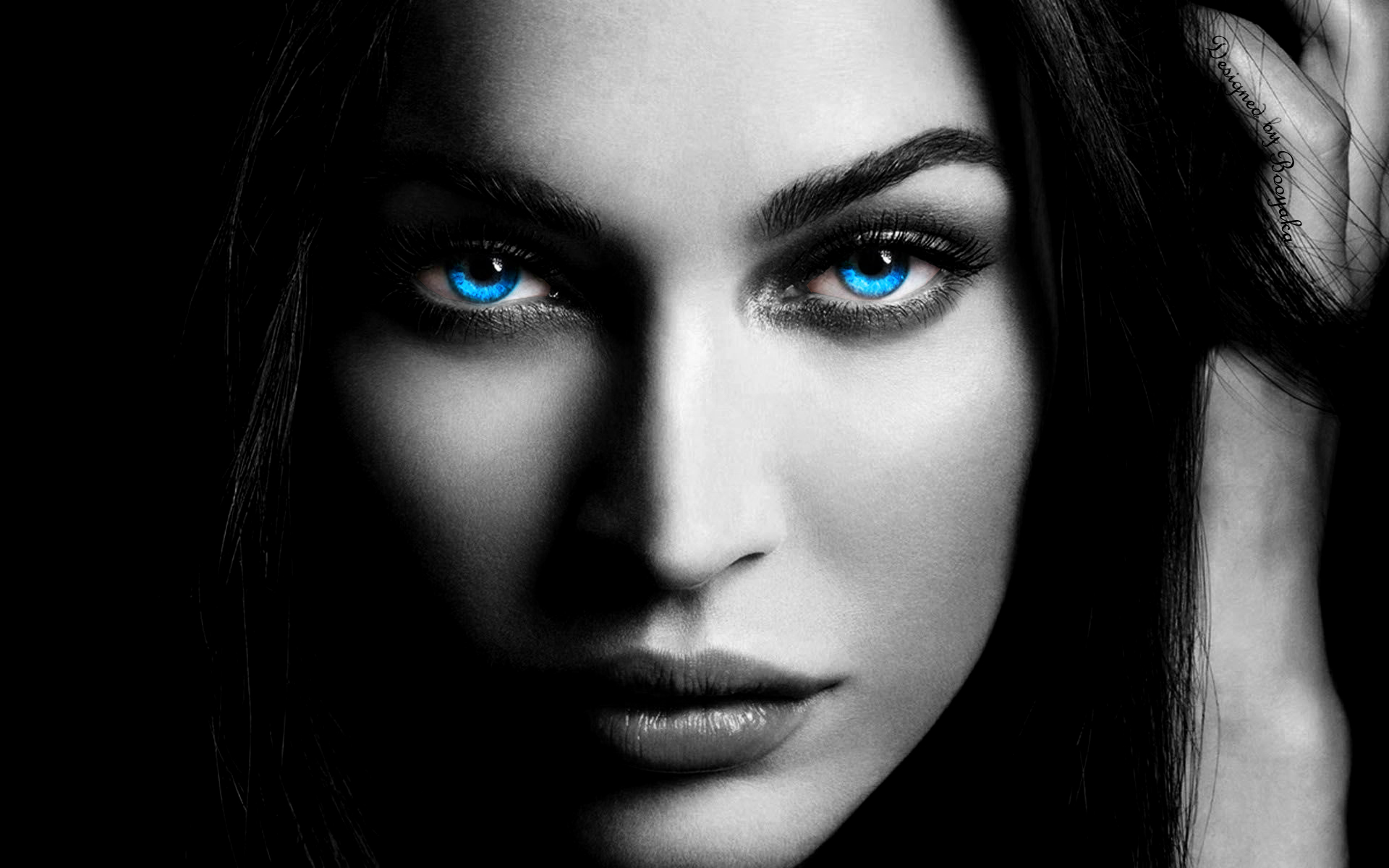 blue eyes. by bKKa619